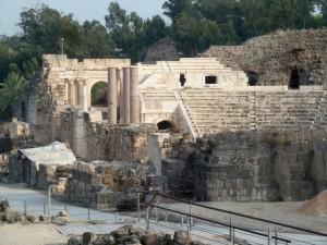 Ruins at Bet She'an